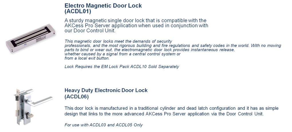 Door Locks 1