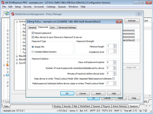 Screenshot for MDaemon Messaging Server