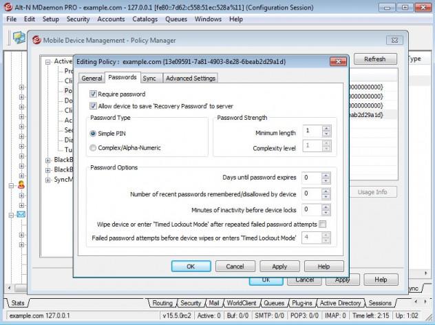 Screenshot for MDaemon Messaging Server
